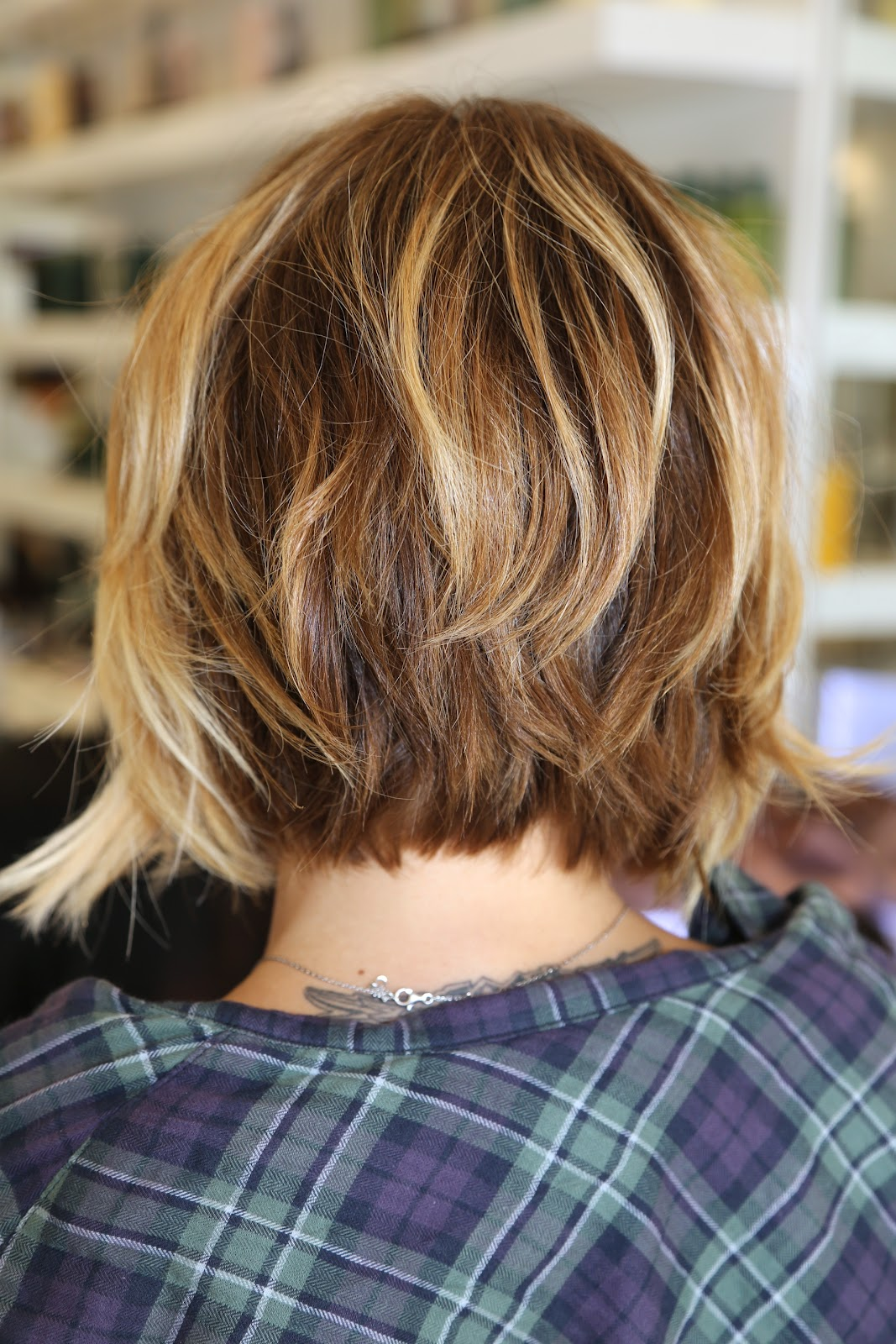 Layered haircut for little girl