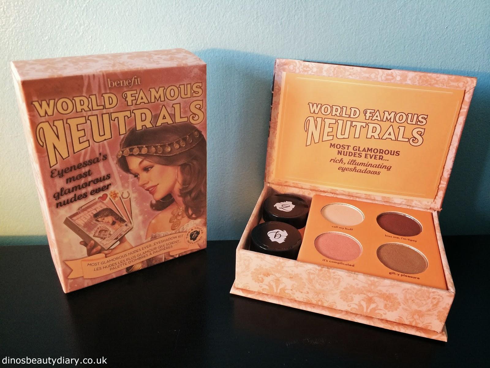 Benefit World Famous Neutrals Eyeshadow Kit