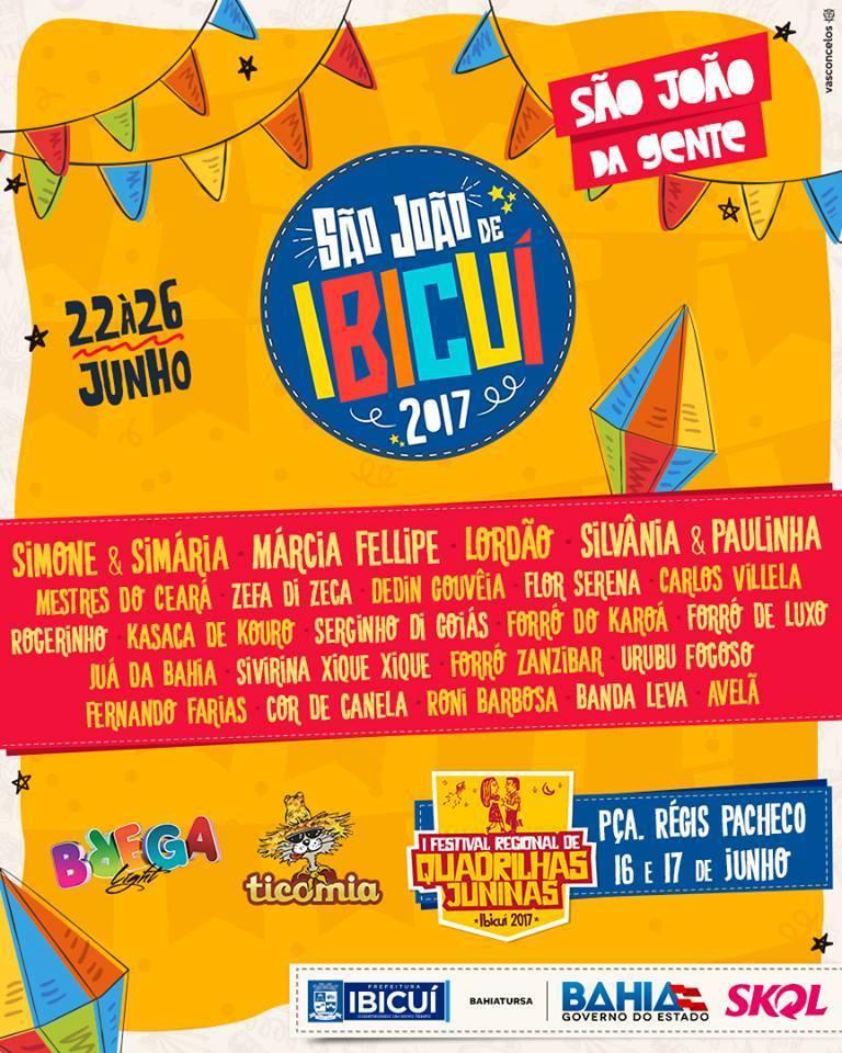 São João em Ibicuí 2017