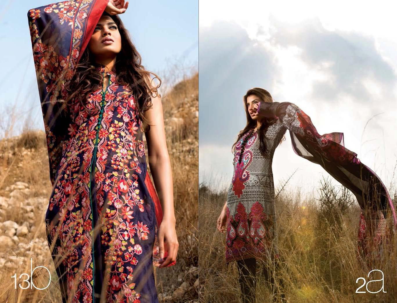 SanaSafinazLawn20132528112529 - Sana Safinaz Lawn Collection 2013
