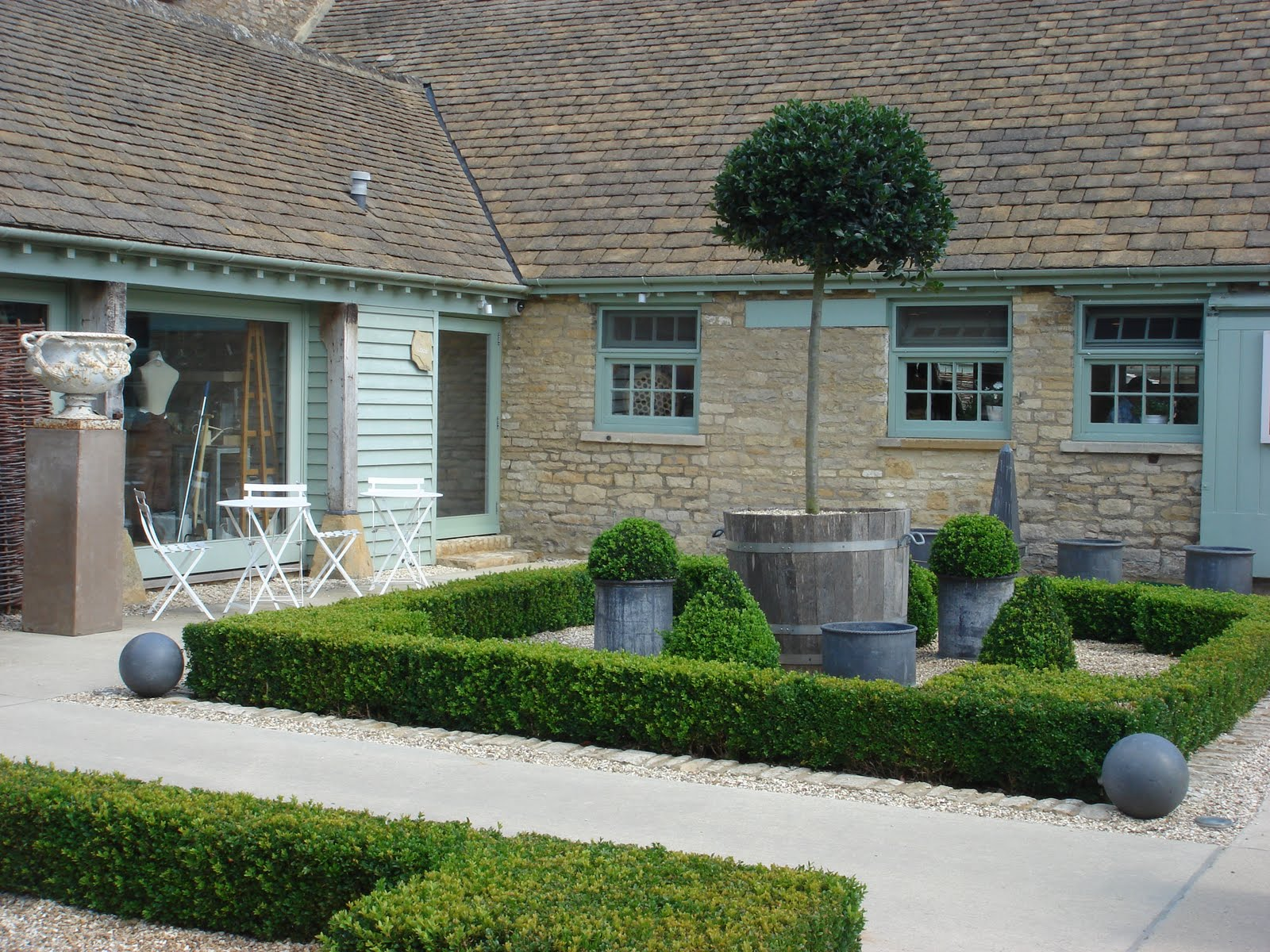 Milly and pip a day out to the cotswolds for Tj garden rooms