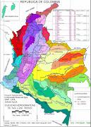 . Caquetá, Guainía, Putumayo, Vaupés y Yarí. La Vertiente del Catatumbo. (mapa de colombia )