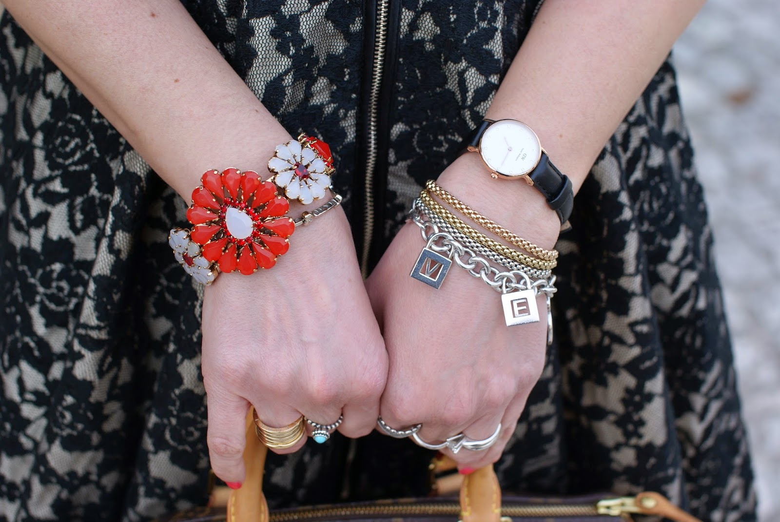 Sodini bijoux, Daniel Wellington watch, Fope bracelets, Tiffany charms, Fashion and Cookies, fashion blogger
