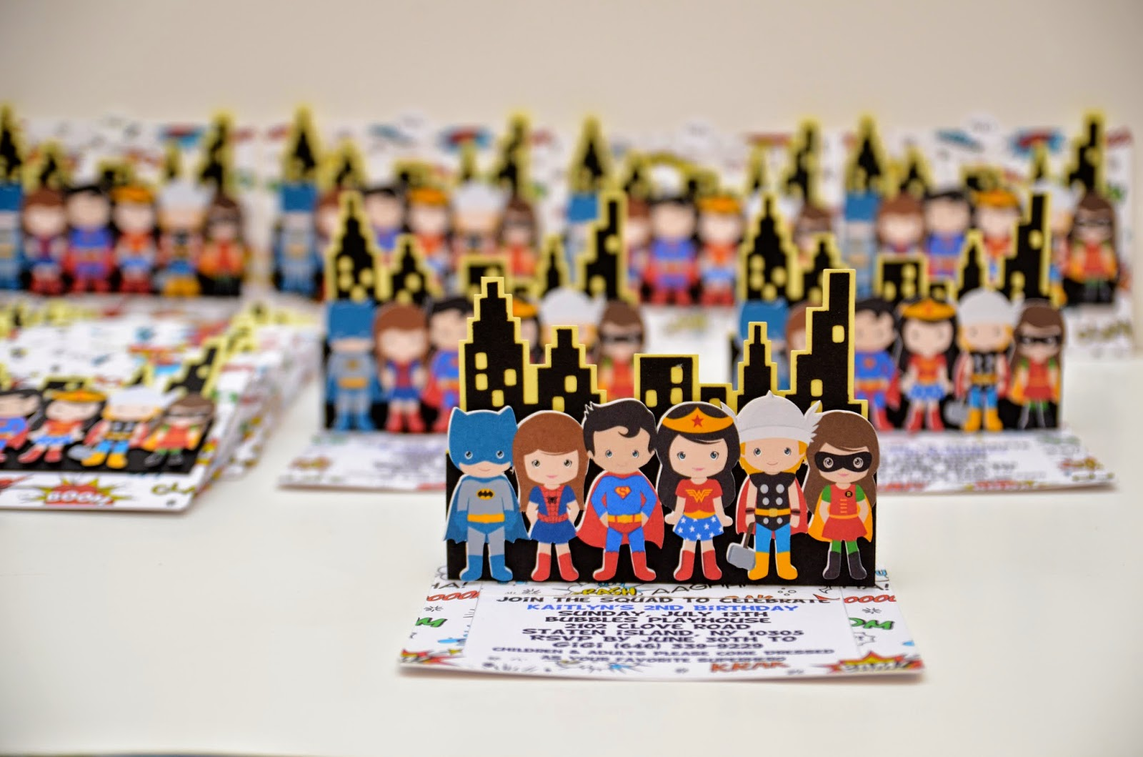 superboys and supergirls party