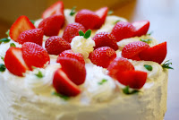 Strawberry Ring Cake