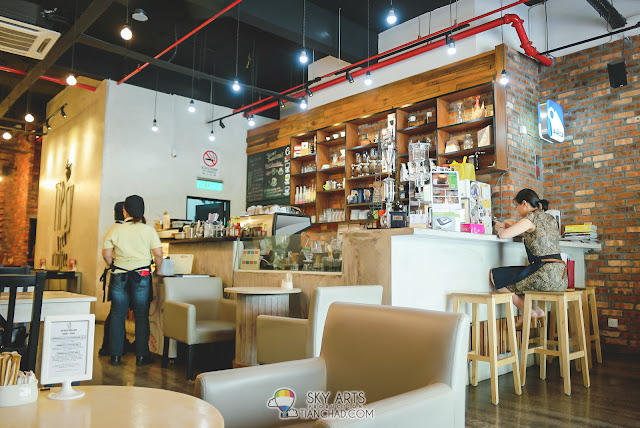 Interior view of  TiPsy Brew O'Coffee @ Puchong Setiawalk
