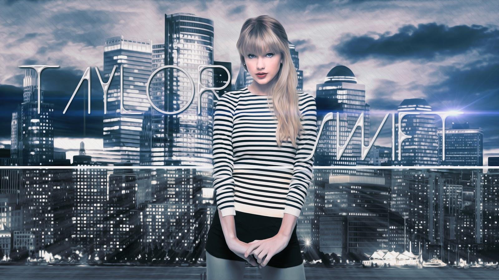 Taylor Swift High Building Wallpaper HD