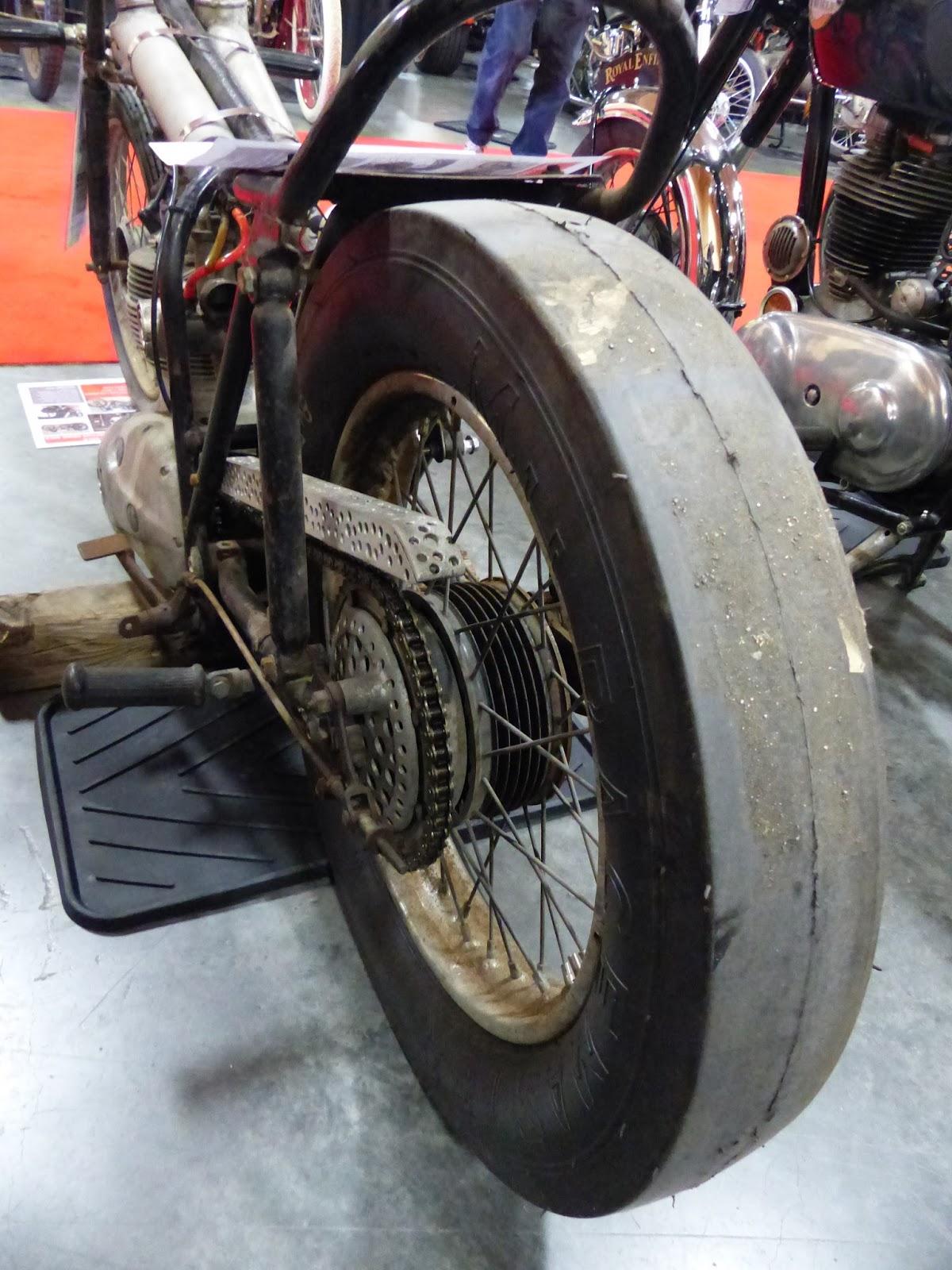 Oldmotodude 1966 Bsa 441 Victor Drag Bike For Sale At The