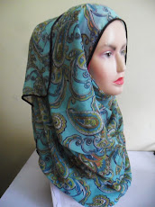 NEW COLLECTION : SHAWL CHIFFON SILK PAISLEY..