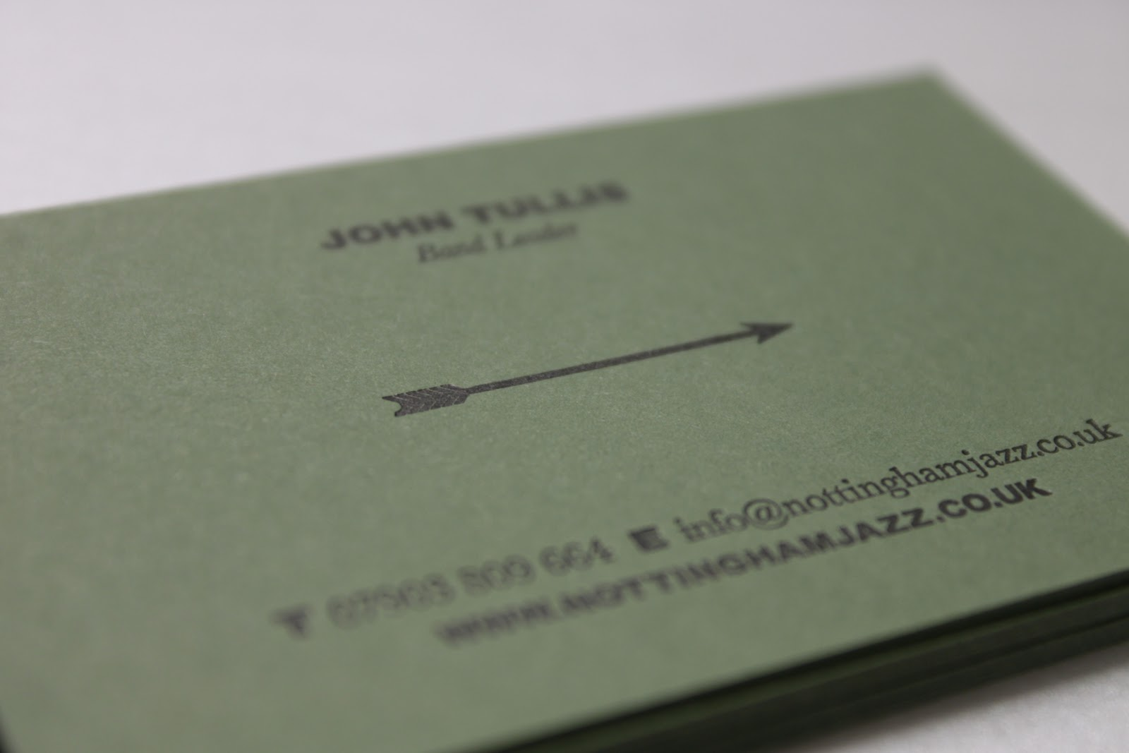 Letterpress Business Cards Nottingham Gallery - Card Design And Card ...