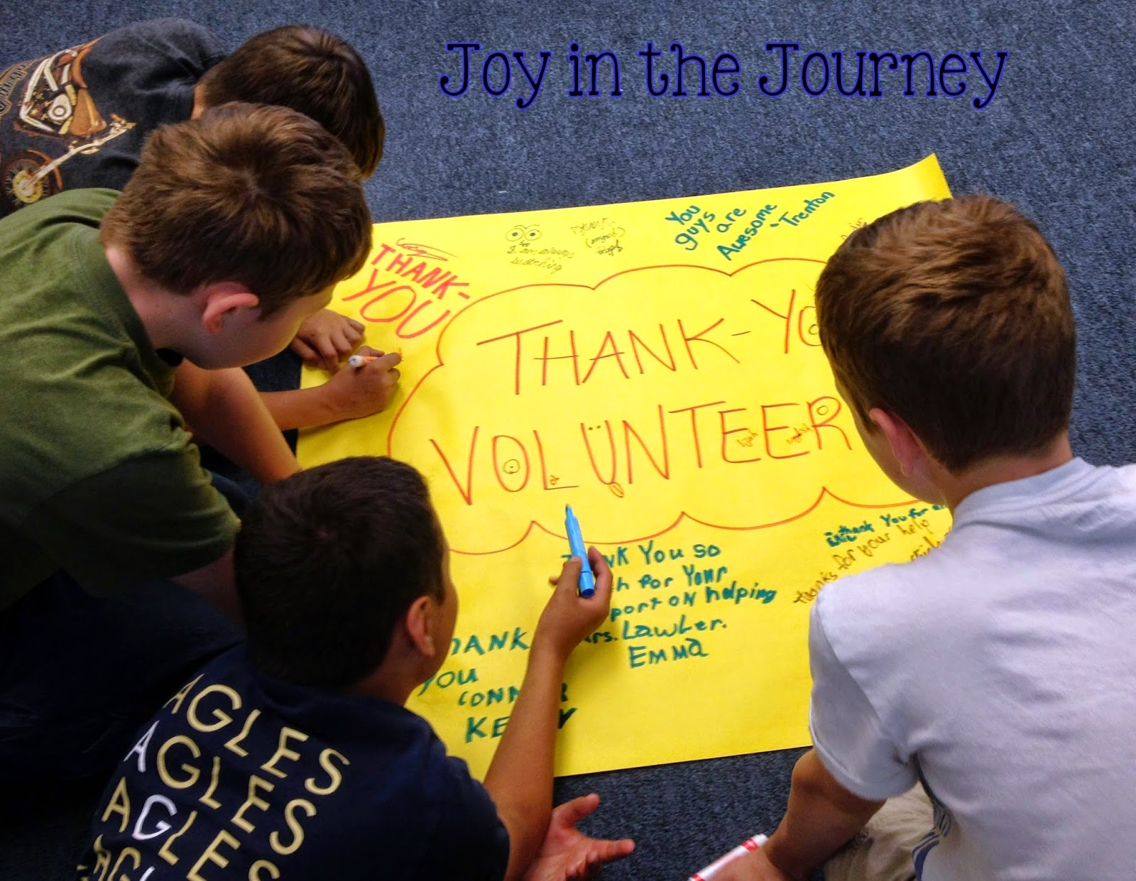 Thank You Gifts For Volunteers Joy In The Journey