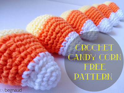 free crochet pattern candy corn