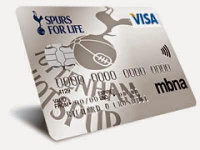 Tottenham credit card