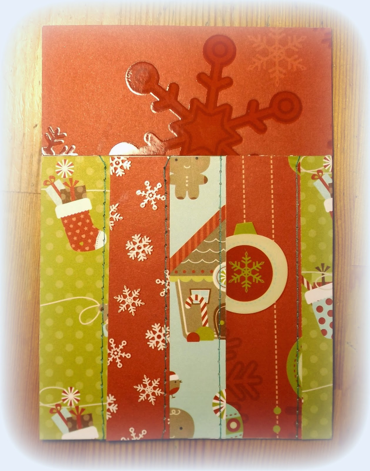 Scrapbooking Christmas Cards