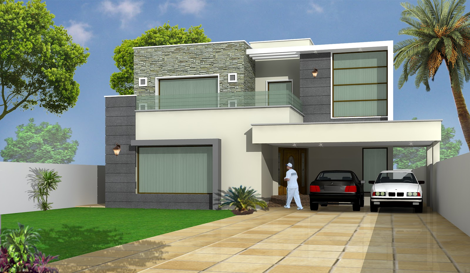 Architectural drawing dream house for Architectural drawings of houses