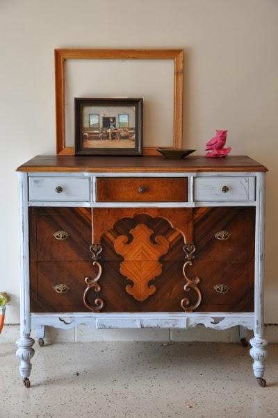 http://fabrehabcreations.blogspot.com/2013/07/jacobean-style-dresser.html