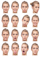 Facial Expressions in Photo Shoot