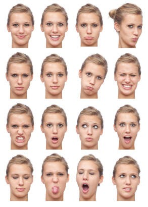 Expressions in non Facial