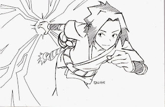 #9 Sasuke Manga Drawing