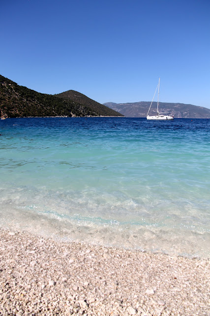 Antissamos Beach, Kefalonia Greece