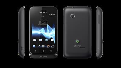 Sony Xperia tipo Classic Black