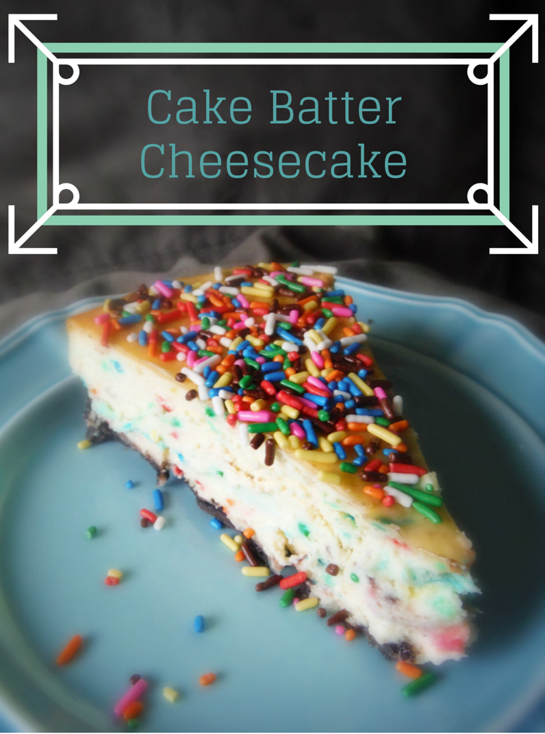 Cake Batter Cheesecake from King's