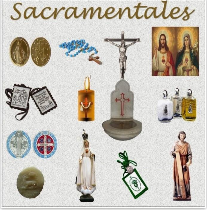 Sobre el Uso de los Sacramentales