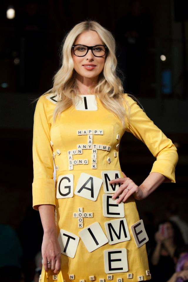 #playCHIC 2013 fashions featuring Scrabble