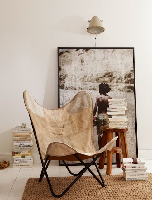 Butterfly krzesło chair aranzacja safari,