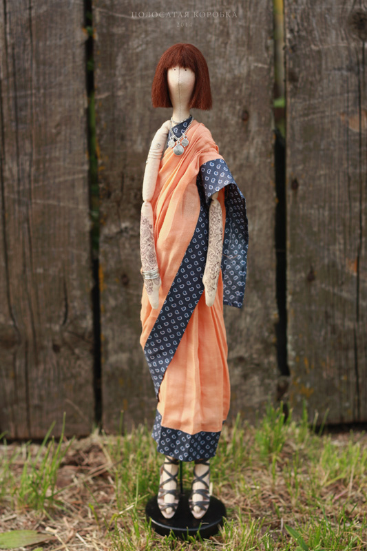 Кукла индианка