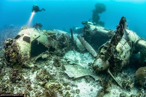 Kubur Dasar Laut Terbesar Didunia Dipenuhi Ratusan Bangkai Kapal Terbang