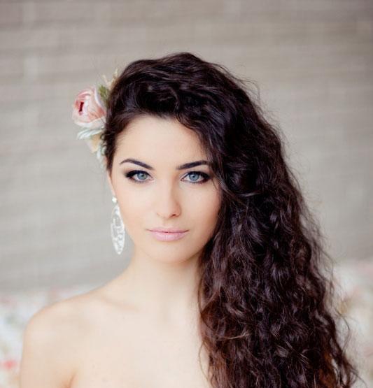 تسريحات شعر العروس 2013