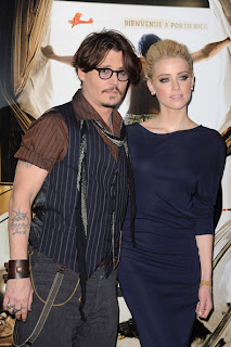 'The Rum Diary' co-stars Johnny Depp and Amber Heard reportedly living together