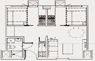 Trees Residences - Combined Tandem Units (2 Studio) Layout