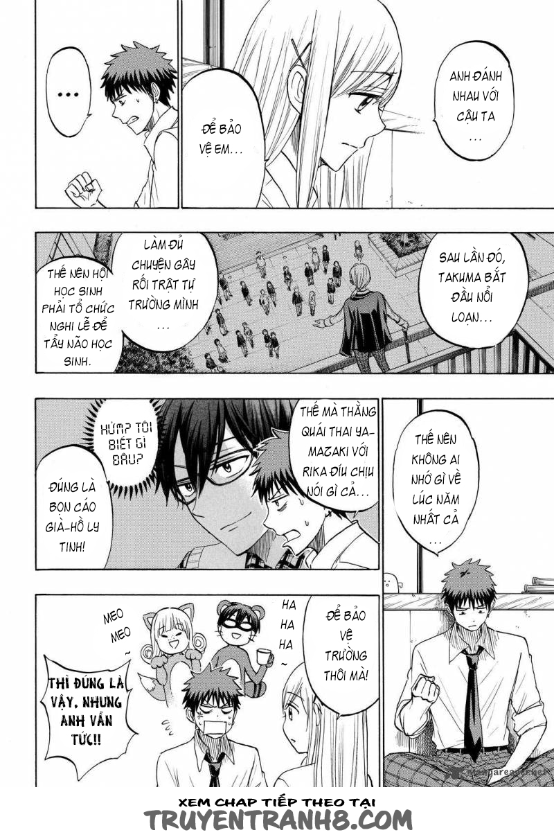 Yamada kun to 7 nin no Majo Chap 225 - Trang 15