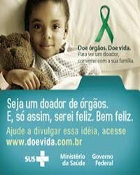 Seja um doador de órgãos