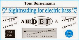 Sightreading for electric bass