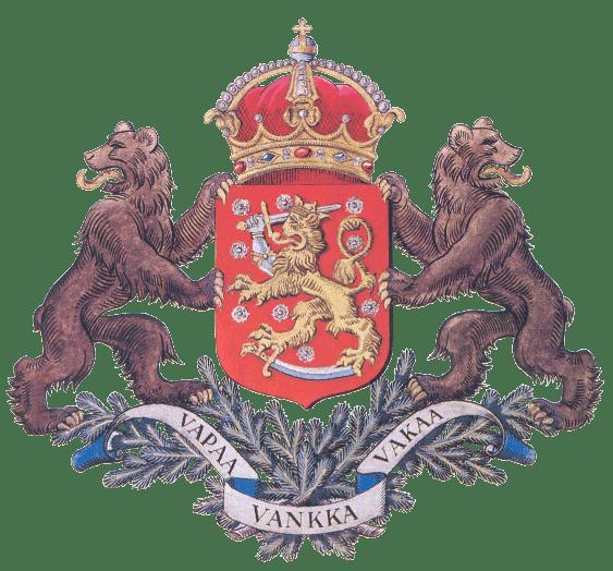 Суоми по-русски: Герб Финляндии, или откуда в Суоми львы.