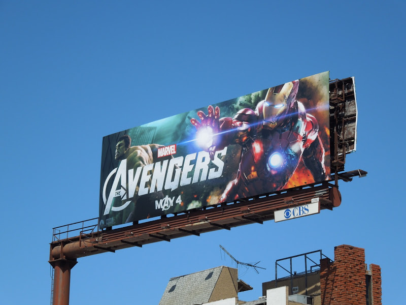 Avengers Iron Man billboard