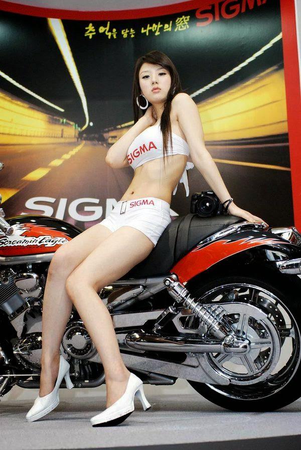 hwang mi hee sexy motor show model 03