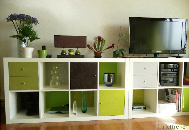 la lettre pimp my expedit. Black Bedroom Furniture Sets. Home Design Ideas