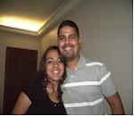 Nossa  filha Rafaelle e seu marido Wesley.