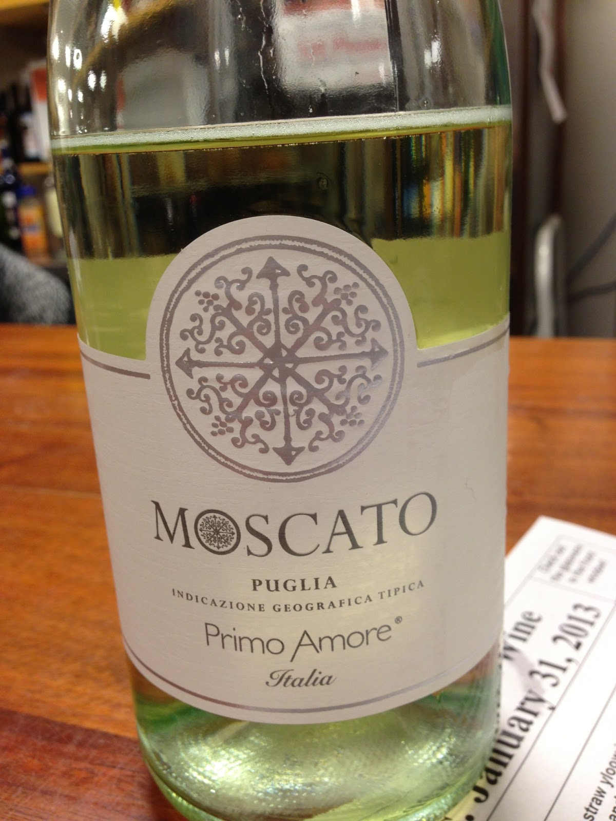 Michael sadowski 39 s wine blog tasting primo amore puglia - Olive garden moscato primo amore ...
