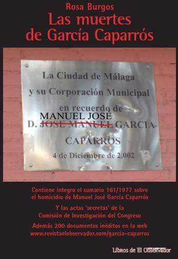 Las muertes de García Caparrós