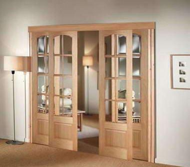Fotos y dise os de puertas marzo 2012 for Puertas interiores de madera con vidrio
