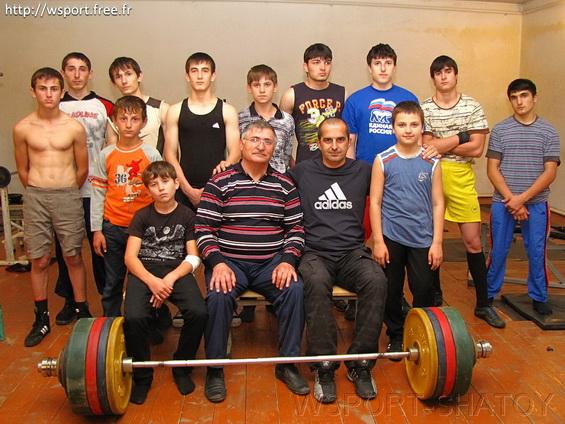Клуб тяжелой атлетики в Шатое