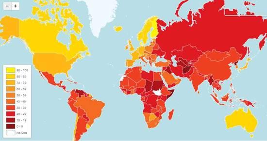 persepsi-indeks-rasuah-dunia