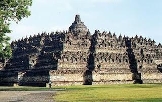 objek wisata candi borobudur indonesia