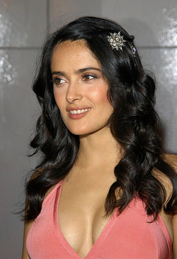 Fresh Look Like Salma Hayek Hairstyles 04