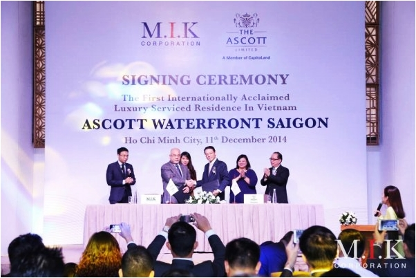 Căn hộ dịch vụ siêu sang Waterfront Saigon
